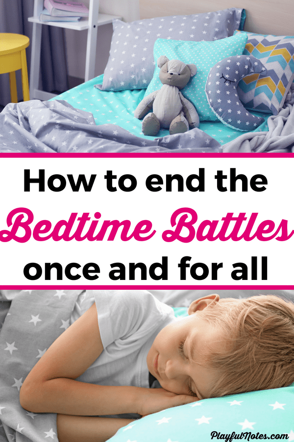 Put an end to bedtime battles with these easy tips that really work! Discover 5 easy tips that will make bedtime easier and more peaceful and download a printable bedtime routine checklist for kids! --- Bedtime Battles | Mom Help | Bedtime Struggles | Bedtime Routine | Toddler Bedtime | Printable bedtime routine | Bedtime tips | Toddler sleep | Bedtime checklist #ParentingTips #RaisingKids #Motherhood #ToddlerSleep #Bedtime