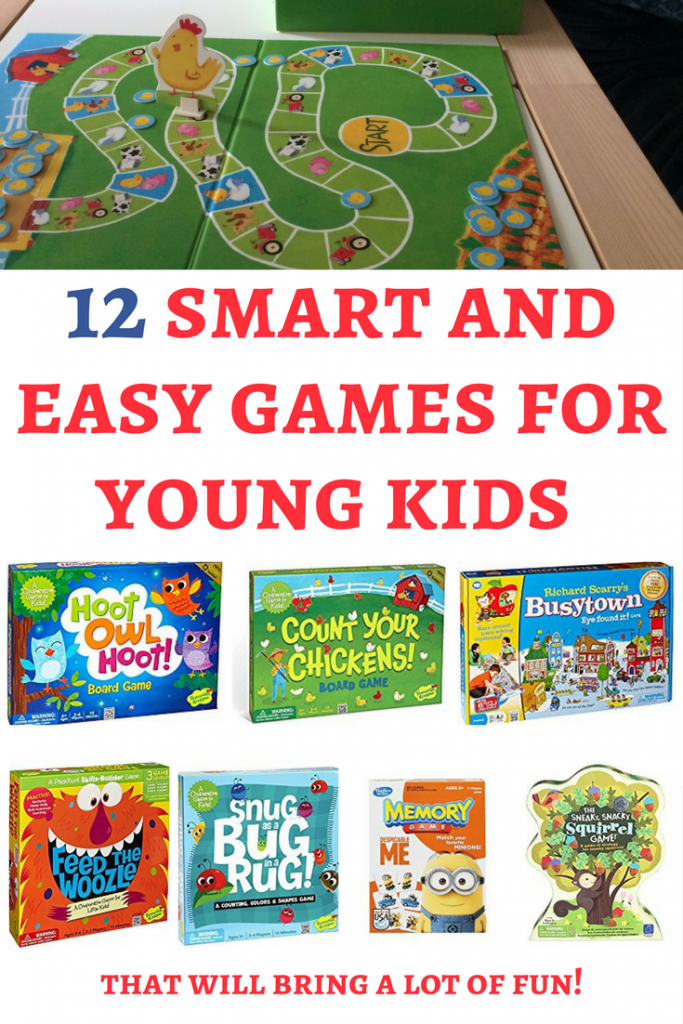 Board games for toddlers and preschoolers: When I looked for the best games for 3 year olds I've discovered many awesome games that can bring a lot of fun! Here are our favorite ones. | Board games for kids | Board games for toddlers | Board games for preschoolers | Family games