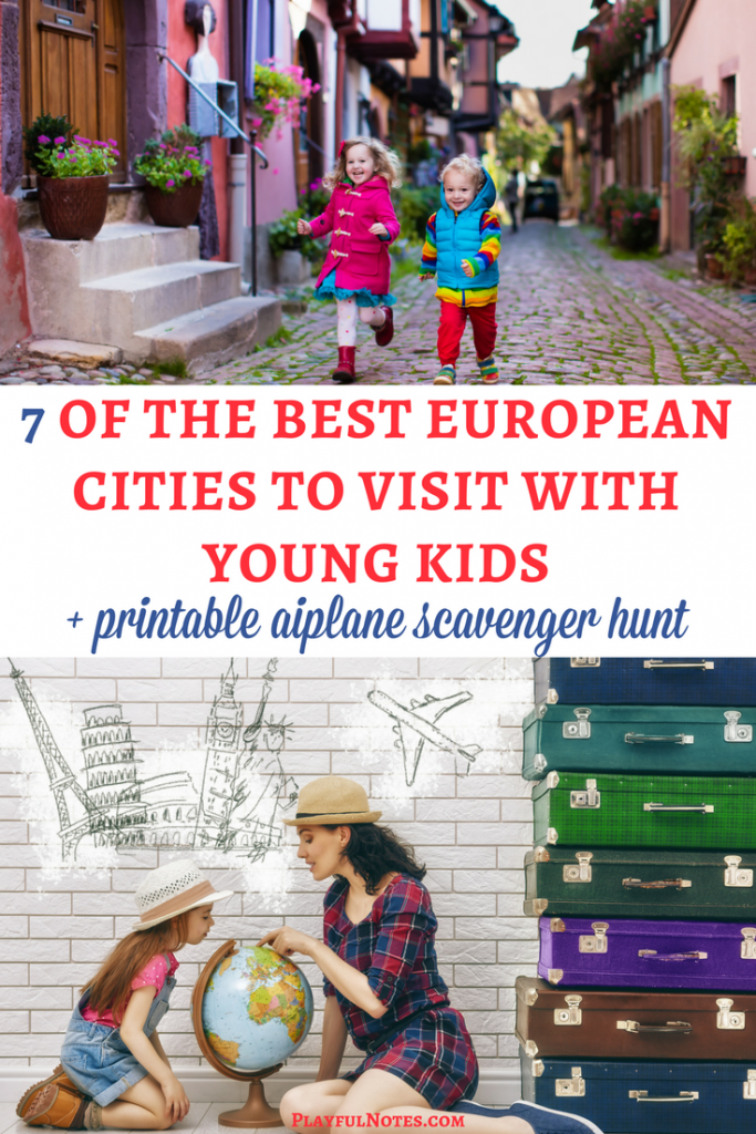 Family travel in Europe: If you are looking for the best European cities for kids, here are some nice ideas to inspire your next family vacation and a list of awesome attractions to visit! | Family travel in Europe | Tips for traveling with kids in Europe | Best places to visit with kids in Europe | Barcelona | London | Madrid