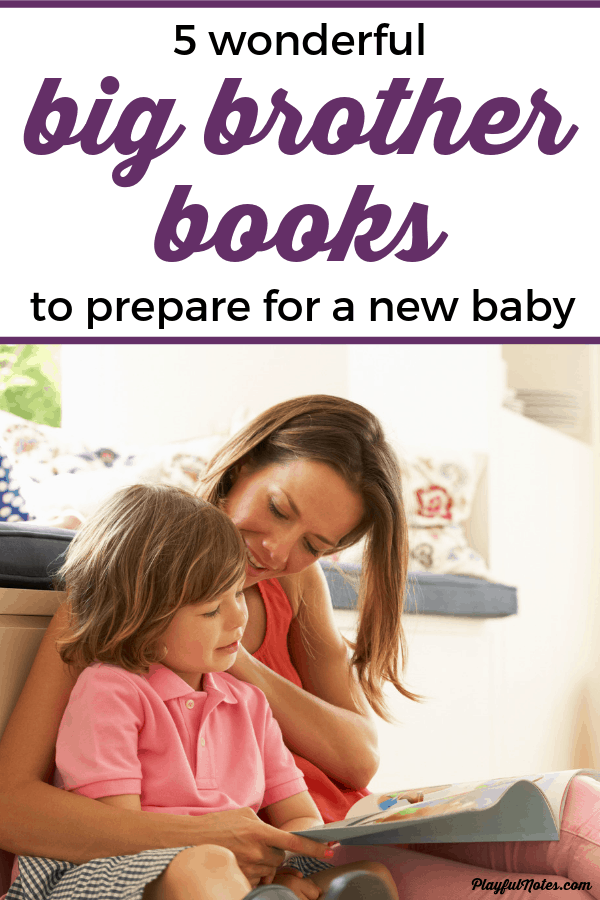 Discover our list of lovely big brother books that are perfect for helping your child get ready for a new baby! --- Books for older siblings | Preparing for a new baby