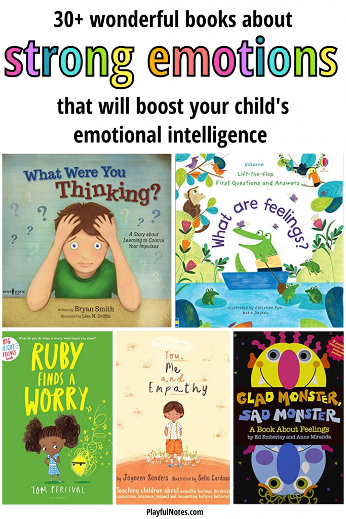 Discover a list of wonderful books that are great for teaching kids how to manage strong emotions, deal with anger, overcome fears and worries, and navigate challenging situations they face as they grow up.