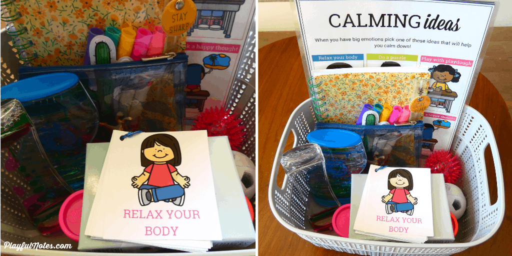 calm down kit for kids