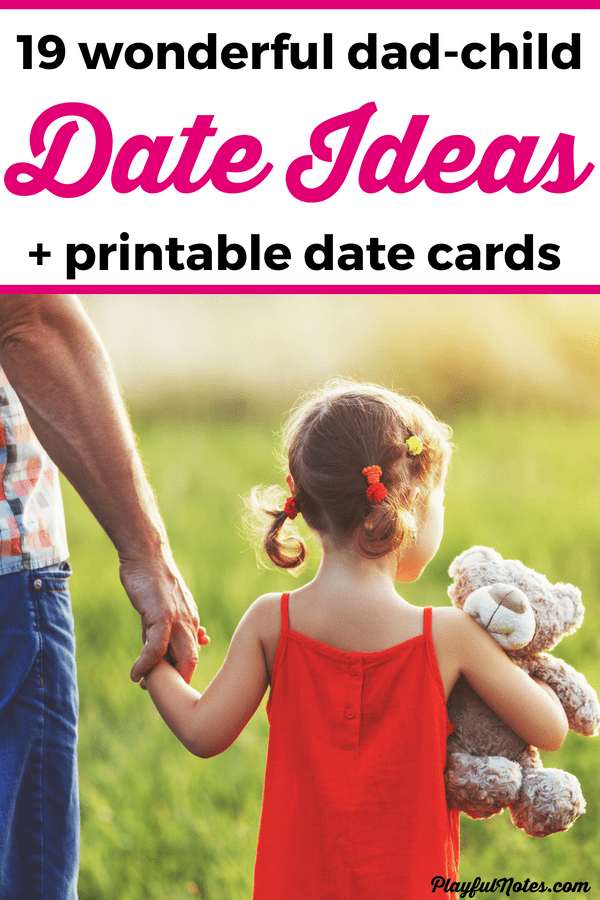 This awesome father-child activities will bring more joy and connection to your home! Parent-child dates are a wonderful way to build connection and to create lovely memories! I always enjoy my mom-son dates and they really make my child happy, so I wanted my husband to try some dates too. He liked the idea but he didn't have a lot of inspiration for choosing what to do at a date. --- Father daughter dates | Father son dates | Father child activities | Family life | Advice for dads #RaisingKids #FamilyLife