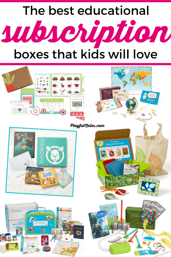 Discover 7 of the best subscription boxes for kids! We tested many boxes in the last 2 years and I'm sharing with you our favorite choices. Hopefully this list will inspire you to find the best subscription box for your kids! --- Monthly subscription boxes for kids | Subscription box ideas for children | Children activities #ChildrenActivities #SubscriptionBoxesForKids