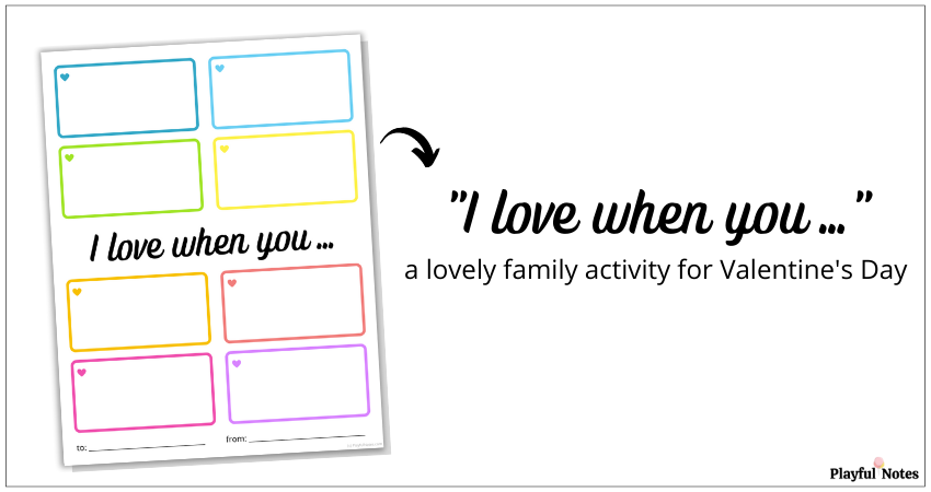 family activity for Valentine's Day