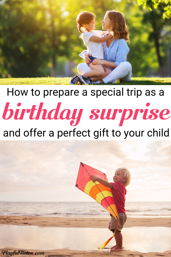 Check out an awesome birthday surprise for kids! It can inspire you for your child's next birthday and help you prepare a surprise that will make your child happy! --- Birthday surprise for kids | Surprise ideas for kids | Raising kids #Parenting #MomLife