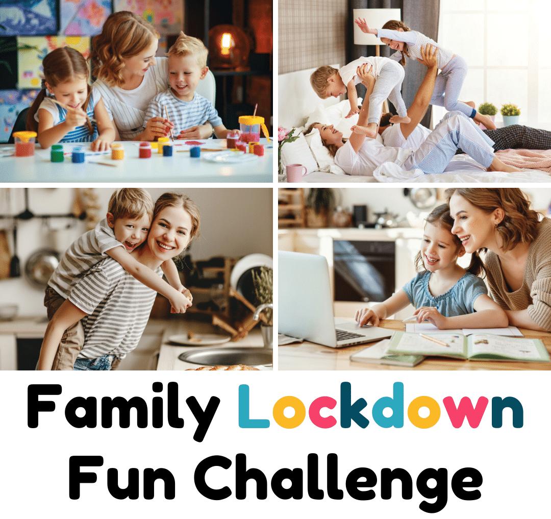 family lockdown fun challenge promo