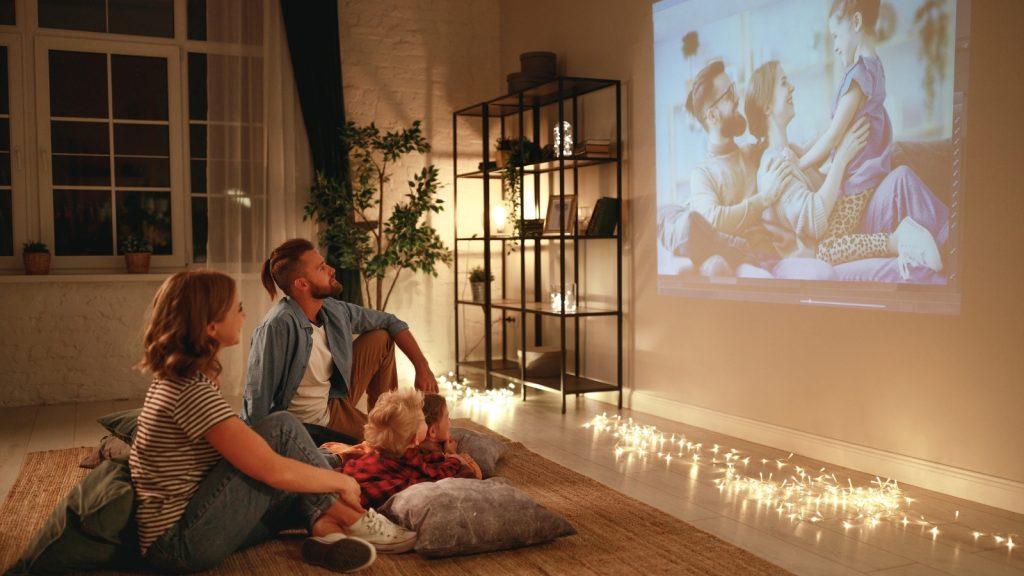family night ideas watch videos