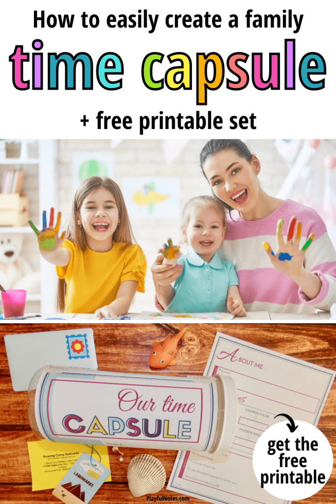 Discover an easy way to create a family time capsule that will preserve precious family memories for years to come. It's a very fun idea and your kids will certainly love it!