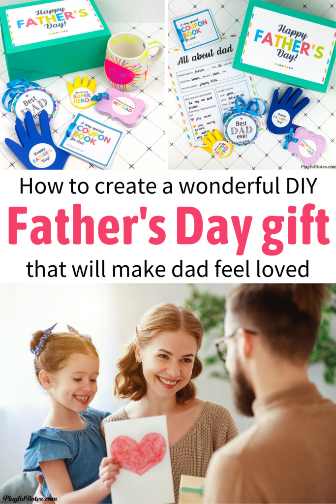 Discover a list of wonderful Father's Day gifts from kids that will make dad feel happy and loved. Download a printable Father's Day questionnaire for kids, a coupon books for dad, and other templates that will help you prepare a lovely gift for dad. -- Family life