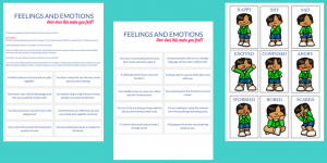 feelings activities