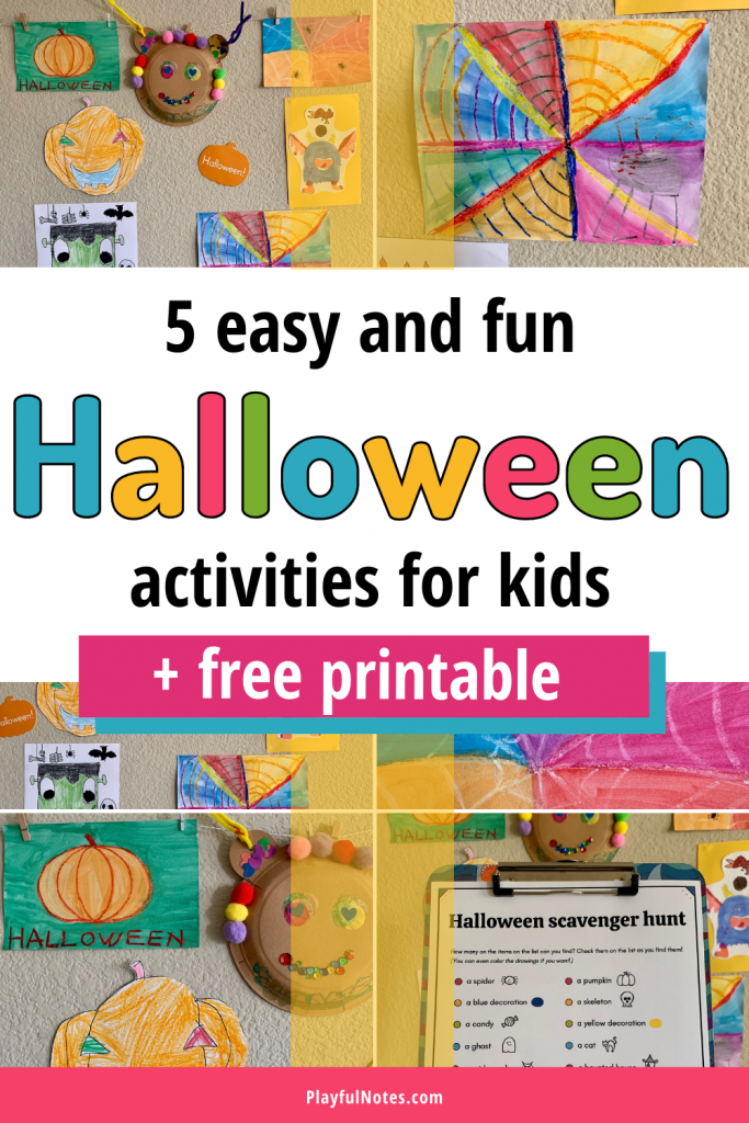 Discover 5 easy and fun Halloween activities for kids that you can quickly set up and enjoy with your little ones!