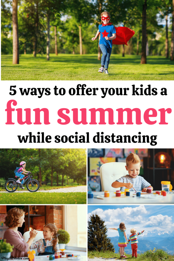 Summer activities for kids: Discover 5 ways to make this summer more fun for your kids, encourage them to learn new things, and build happy memories together.