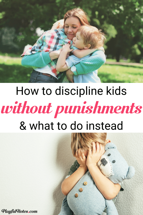 Positive parenting: Is it really possible to discipline without punishments or time-outs? Here is everything I learned from raising my child without punishments, plus the best tips to help you implement positive parenting with your kids! --- Disciplining a child | Gentle parenting tips