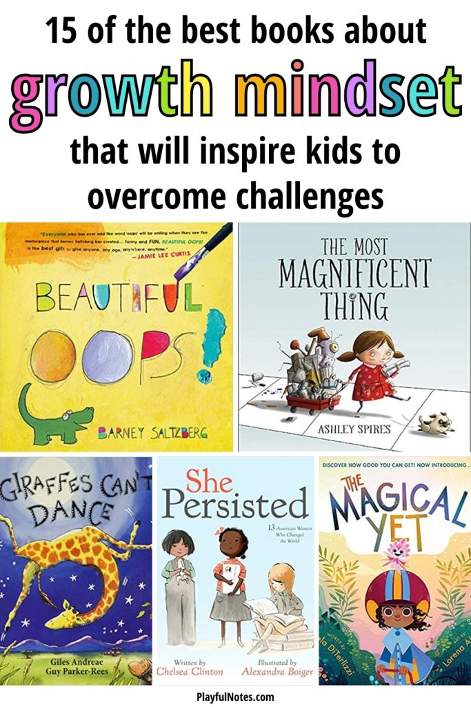 Discover 15 of the best growth mindset books for kids that will inspire them to try new things, overcome challenges, and become more resilient and confident.