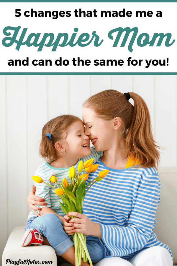 These 3 small changes in your life will make you a happier mom! The tips will make motherhood easier and will transform your life, no matter if you are a stay at home mom or a working mom! | How to be a happy mom | Motherhood tips | Parenting tips | Mom life #Motherhood #MomLife #ParentingTips #PositiveParenting