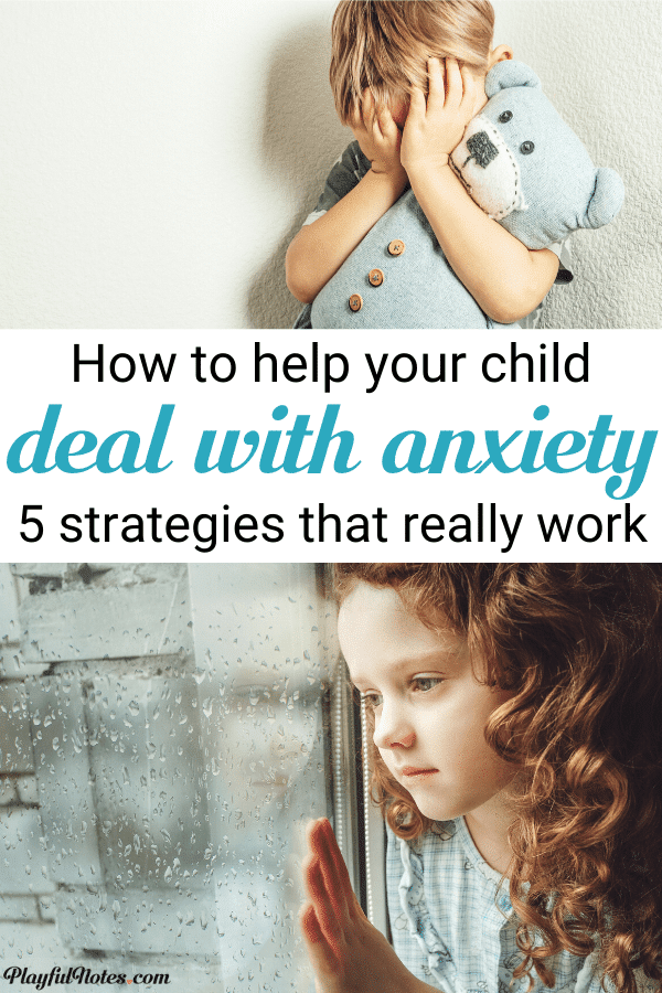 How to help an anxious child to deal with intense feelings - 5 powerful strategies that can make a difference for a child who struggles with fears or worries --- Gentle parenting tips | Helping kids deal with anxiety | Tips for helping an anxious child