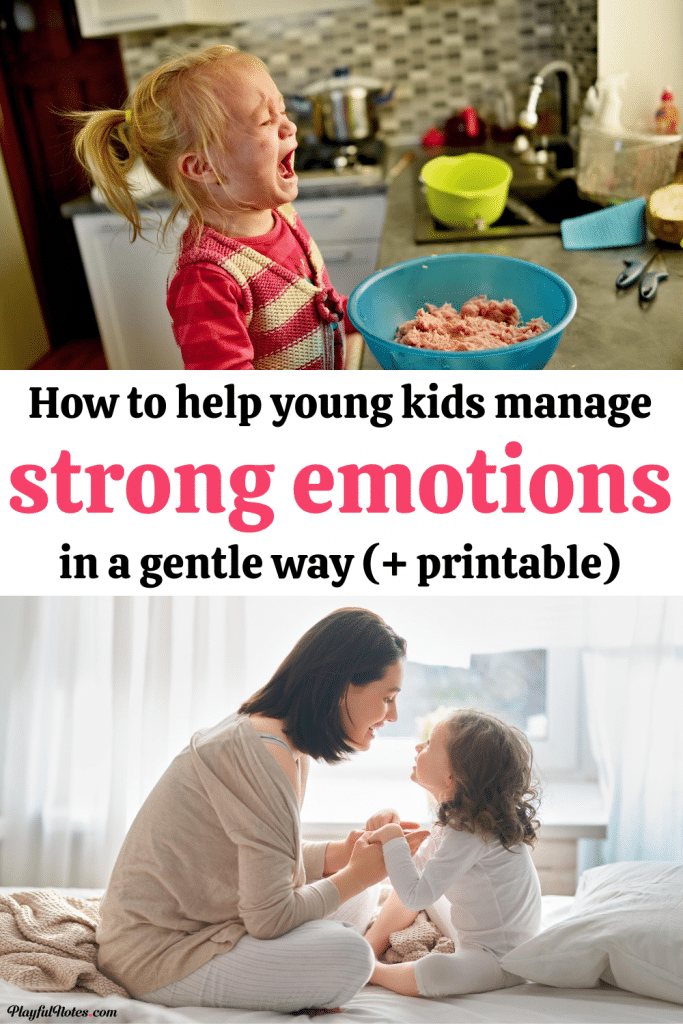 Discover easy and effective tips for teaching young kids how to deal with strong emotions and how to behave better when they feel angry or upset.