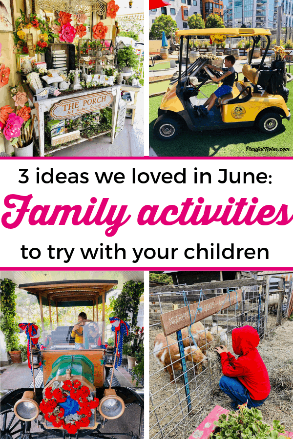 Our family's favorite finds in June: 3 ideas to try with your children that the whole family will love! --- Family activities | Family fun | Family life #FamilyFun
