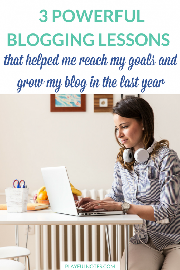 Blogging tips: Blogging is one of my biggest passions. So learning about blogging is something that I really enjoy. Here are the most important lessons that I've learned in the last year. | #Blogging tips | Blogging income #BloggingTips #WorkFromHome