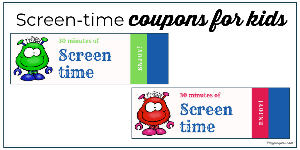 limit screen time coupons