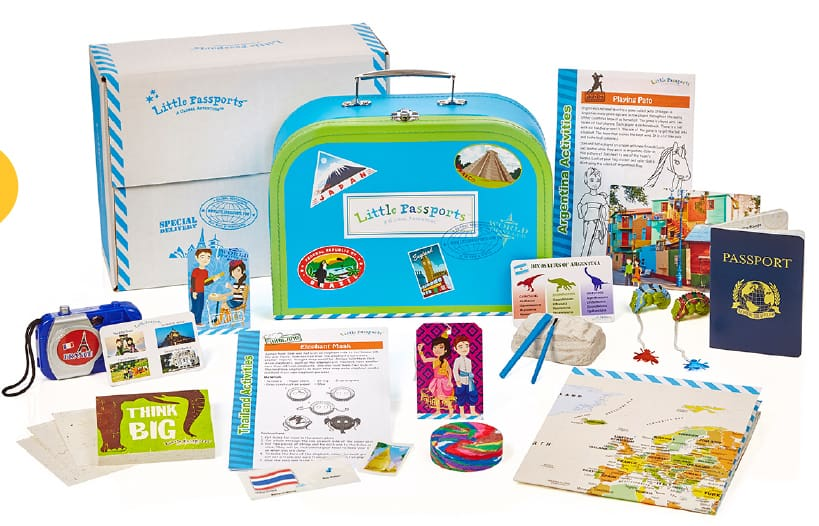 little passports educational subscription boxes for kids