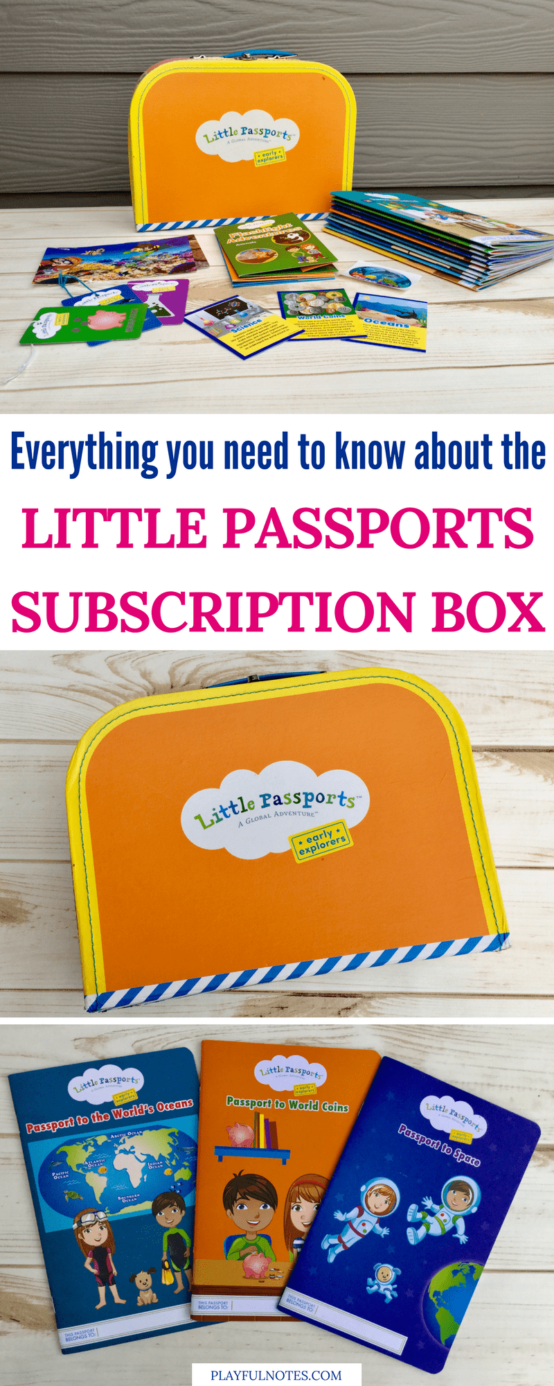 Little Passports subscription box: The best way to teach kids about the world in a fun and playful way! | Early Explorers | Subscription box for kids #LittlePassports