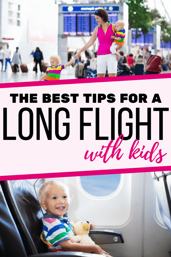 Make flying with kids a lot easier with these great tips! Long flights with kids don't have to be stressful! If you're planning a flight with kids, you'll want to read this first! From flying tips for babies to toddlers and even older kids, these 50 flying tips will make your flight easier to handle and more fun for the children! --- Flight tips for flying with kids | Flying with toddlers | Flying with preschoolers