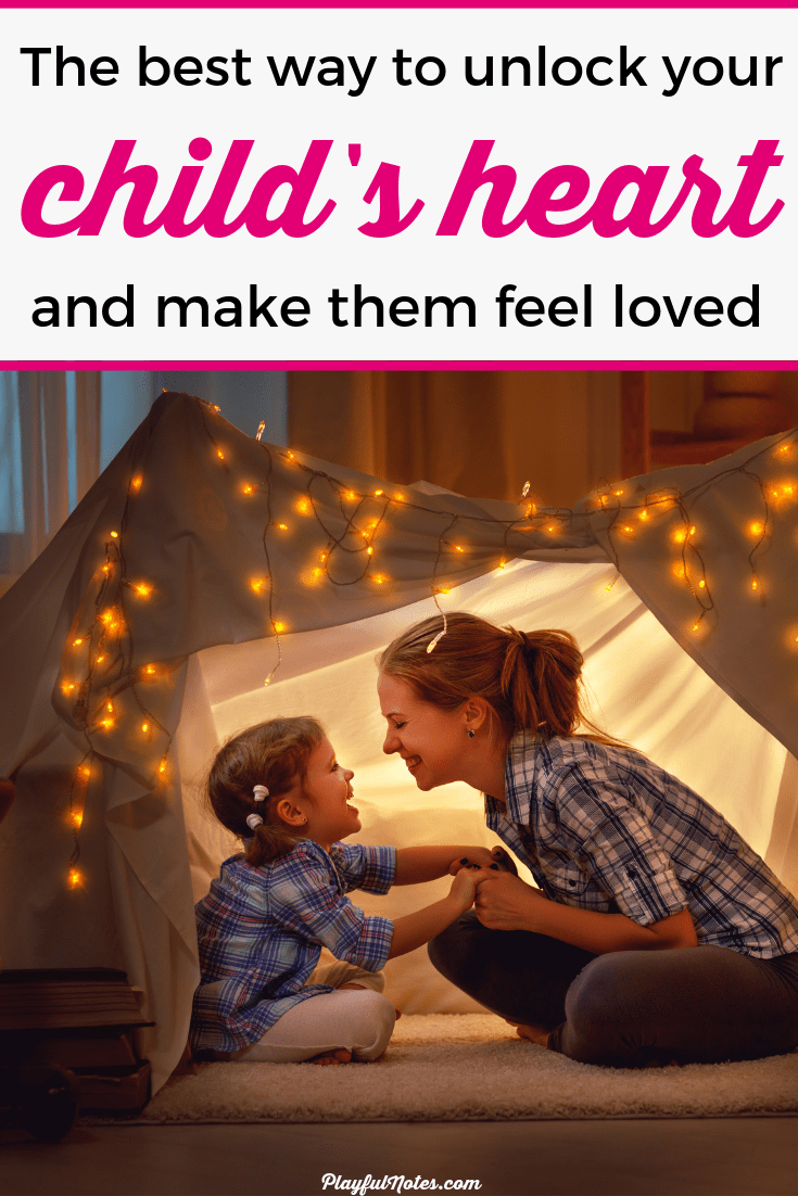 Have you ever wondered what is the best way to unlock your child's heart and build a strong connection? Discovering the 5 love languages of children can make a huge difference for both you and your child. It will help you make your child feel love and bring joy to them every single day! --- Love languages for kids | Love language ideas | Connecting with kids | Positive parenting tips #ParentingTips