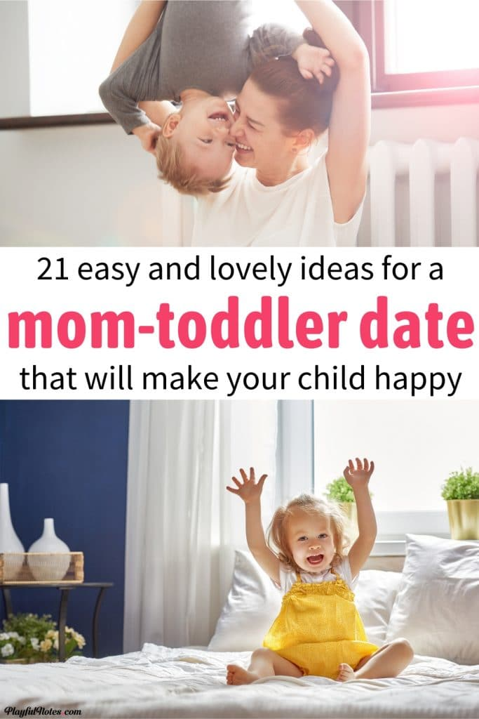 Discover an awesome list of easy and fun mom-toddler date ideas that will make your child feel happy.