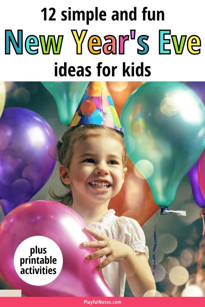 Are you looking for some simple and fun New Year's Eve ideas for kids? Discover our list of ideas and plan nice New Year's Eve activities to enjoy with your kids!