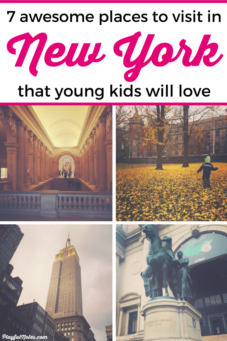 Discover 7 awesome things to do in New York with kids and a great guide that will help you plan a wonderful family vacation! --- New York for families | Family vacations| Family vacation destinations | Tips for visiting New York with kids #FamilyTravel #FamilyVacations