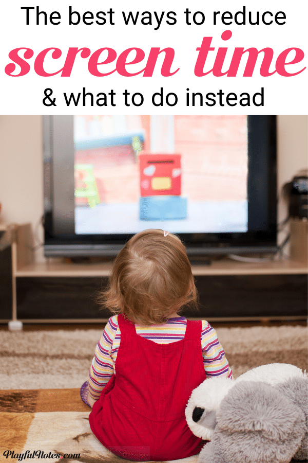 How to reduce screen time for kids and what to do instead: Screen time alternatives for kids that you can implement right away --- Parenting tips