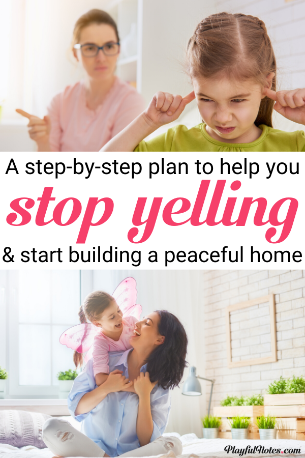 Do you want to stop yelling at kids and become the peaceful parent you always wanted to be? These 5 easy and effective strategies can make a huge difference! --- How to stop yelling at your kids