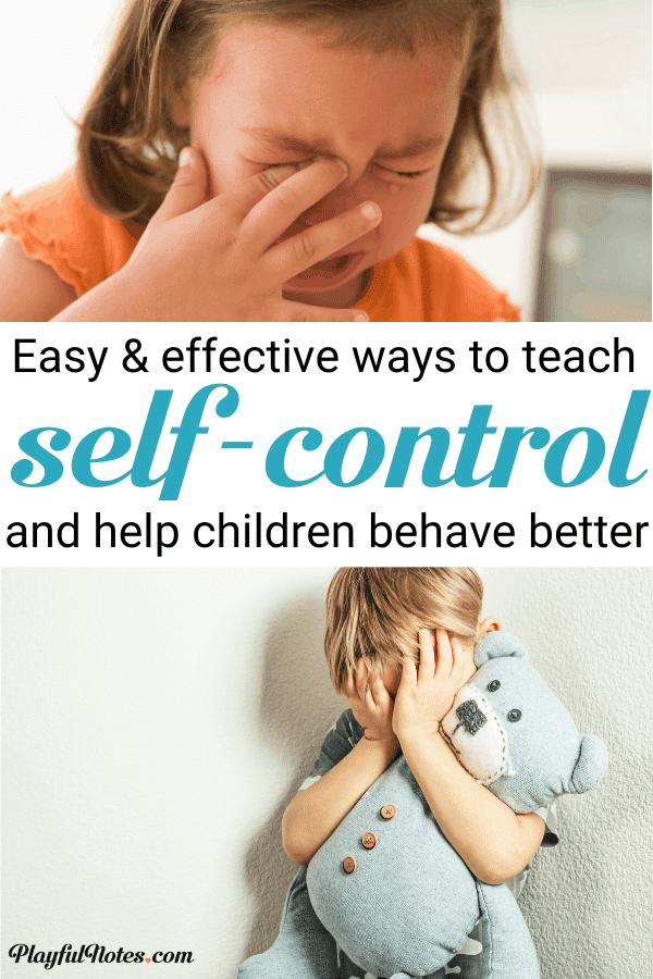 Discover the best ways to teach children how to control their emotions and behaviors using easy activities and resources! --- Self-control​ activities for kids | Gentle parenting tips | Self regulation skills and strategies for kids