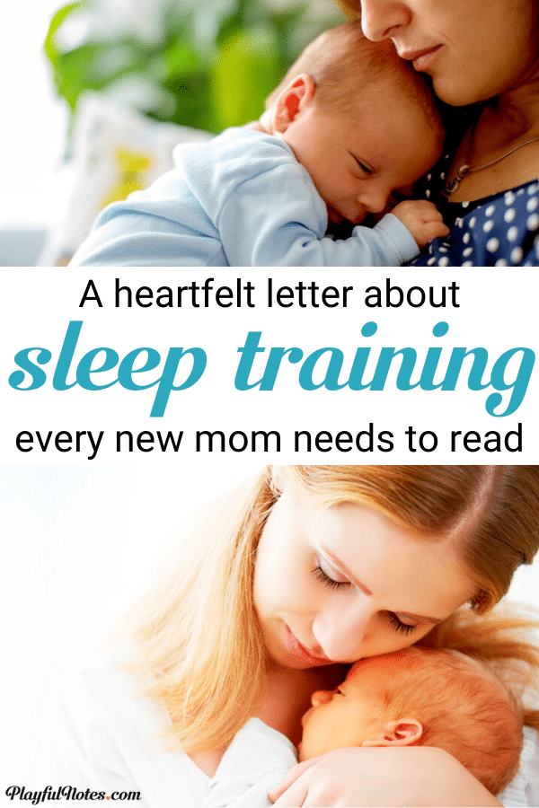 If you are a new mom looking for baby sleep tips, please read this! It can change how you feel about sleep training and offer you better alternatives to try! --- Advice for moms