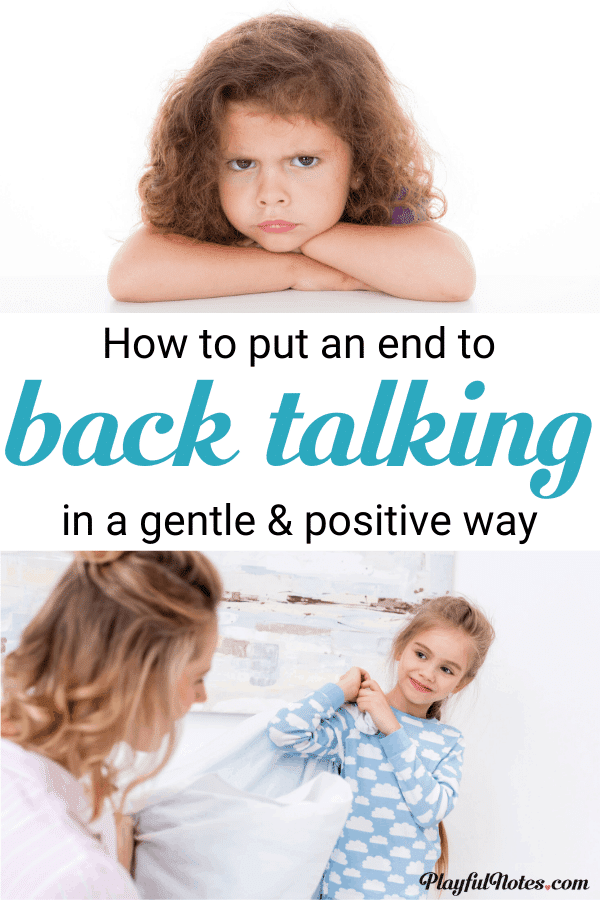 Get easy and effective tips that will help you handle kids talking back in a positive way and put an end to the behavior. Understanding the reason behind the behavior and using these simple strategies will help you handle these situations with calm and empathy. --- How to discipline kids talking back | Gentle parenting tips | Back talk and disrespect