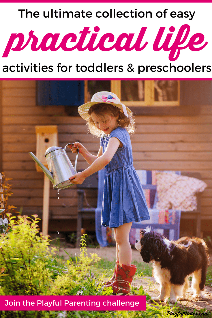 Practical life activities are great for teaching kids to be more independent and responsible. They will feel more confident because they will learn to do more things on their own and you will enjoy their help! --- Practical life for toddlers and preschoolers   Montessori practical life   Practical life ideas for kids   Children activities   Toddler activities #ChildrenActivities