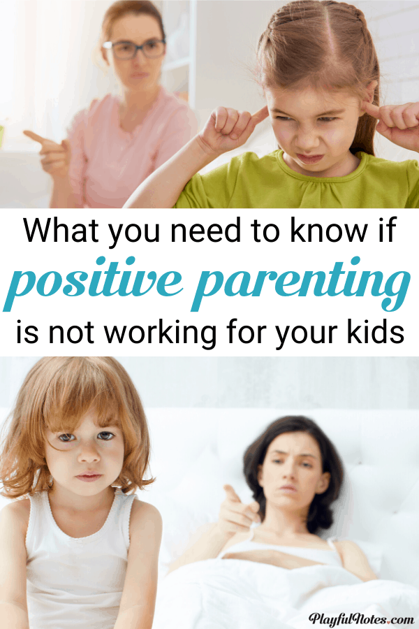 Positive parenting is hard. But if you ever feel that it isn't right for you, please read this. It may change the way you feel about this. --- The hard truth about positive parenting