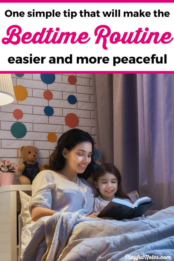 If the bedtime routine only brings you power struggles, you need to try this easy solution! It will put an end to bedtime battles and will completely transform your evenings! --- Bedtime routine for kids | Positive parenting tips | Bedtime for toddlers and preschoolers #Bedtime #PositiveParenting #ParentingTips #ParentingHacks