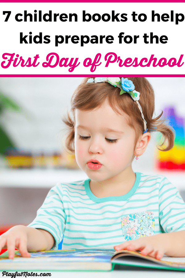 These lovely children books are great fo preparing your child for the first day of preschool! It will help kids deal with their fears and worries and will make the first day of preschool easier! --- Children books about preschool | How to prepare for preschool #RaisingKids #ChildrenBooks