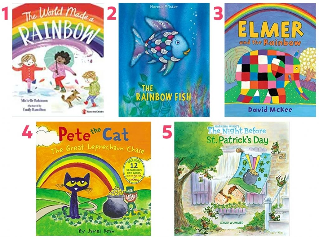march books for kids rainbow books for kids