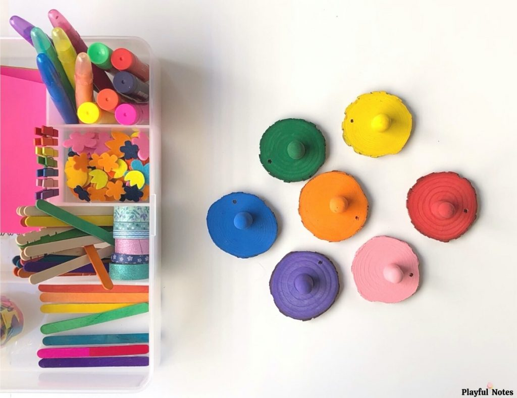 rainbow play kit for kids