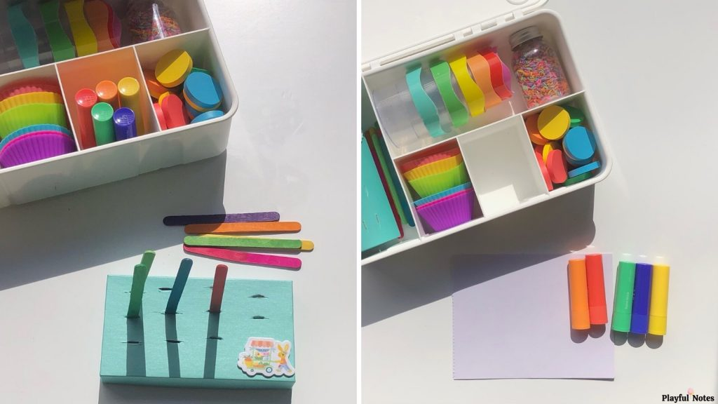 rainbow play kit for toddlers
