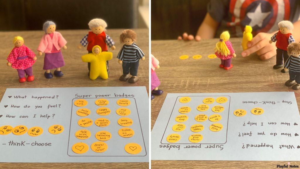 self regulation activity for kids
