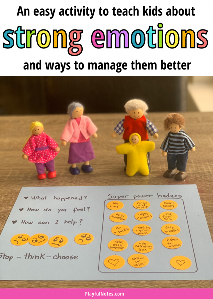 Try this easy self-regulation activity for kids to teach them how to manage strong emotions better and use calming strategies when they feel angry, worried, or upset.
