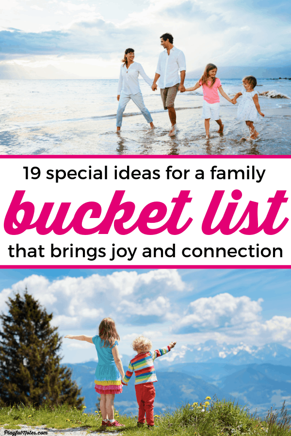 Have you ever considered creating a special summer bucket list for kids? Having a list of ideas at hand will help you plan a happy summer and be more intentional when it comes to planning family activities! --- Summer activities for for kids | Family fun | Family life #Parenting