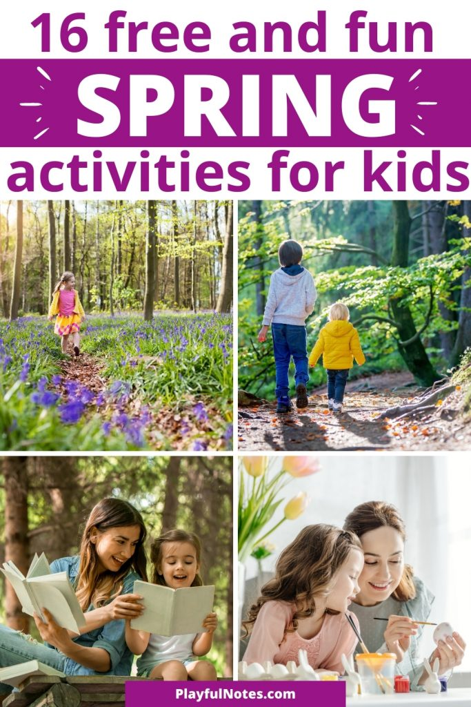 Discover 16 free and fun spring activities for kids that the whole family will love!