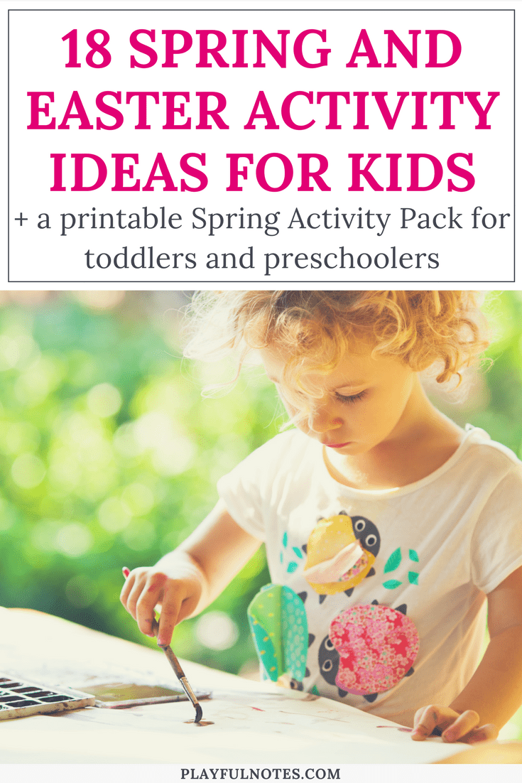 spring activity ideas for young kids