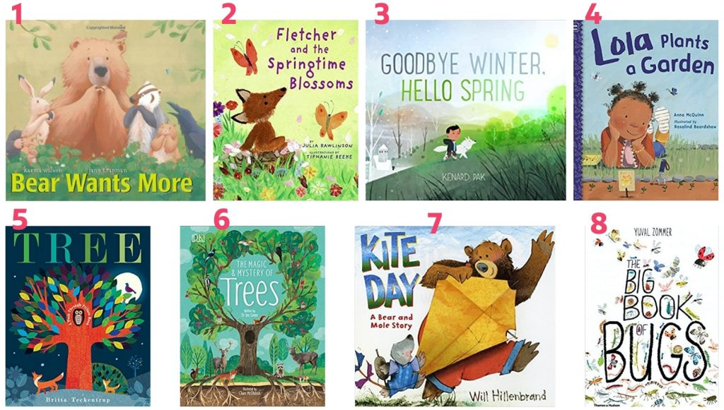 march books for kids spring books for kids